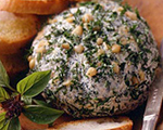 Fresh Pesto Cheese Ball