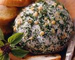 Fresh Pesto Cheese Ball
