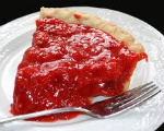 Fresh Strawberry Jello Pie