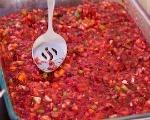 Frozen Pineapple Cranberry Salad