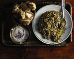 Garlicky Lentil Salad