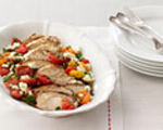 Greek-Inspired Grilled Chicken with Feta Cheese