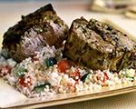 Greek Lamb Loin Chops with Couscous
