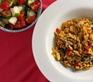 Greek-Style Lamb and Orzo