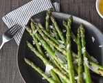 Grilled Asparagus with Shaved Pecorino Romano Cheese