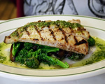 Lemon Butter Grilled Red Snapper