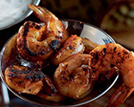 Grilled Shrimp with Yogurt Remoulade Sauce