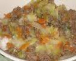 Ground Beef and Cabbage Supper