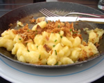 Gruyere and Onion Spaetzle