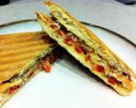 Gluten-Free Roasted Pepper and Serrano Ham Sandwich