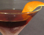 Hanky Panky with Orange Cocktail