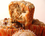 Healthy Carrot Apple Muffins
