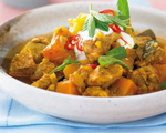 Hearty Chicken and Pumpkin Stew