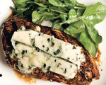 Herb and Balsamic Chicken with Blue Cheese