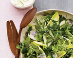 Herb and Endive Salad with Lime Dressing
