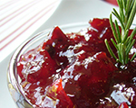 Honey and Citrus Cranberry Sauce