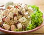 Honey Chicken Walnut Salad
