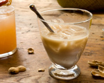 Horchata and Rum Cocktail