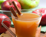 Hot Apple Cinnamon Cider