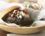 Jalapeno Blue Cheese Burgers