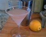 Lavender Lemon Drop Cocktail