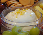 Lemon and Yogurt Dip