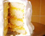 Melt in Your Mouth Lemon Layer Cake