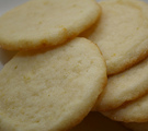Meyer lemon wafers