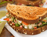 Light Shrimp Louis Salad Sandwich