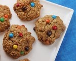 M&M Cookies with Toffee