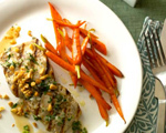 Mahi-mahi with Herbed White Wine Sauce