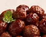 Chafing dish meatballs
