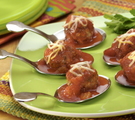 Meatballs with Chorizo and Cheese