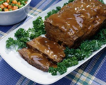 Meatloaf with Apple Glaze