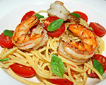 Mediterranean Shrimp with Fresh Tomatoes and Basil
