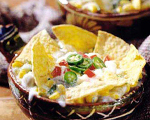 Mexican Chihuahua Cheese Tortilla Casserole