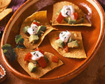 Mexican Tostada Bites