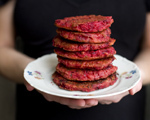 Millet and Beetroot Burgers