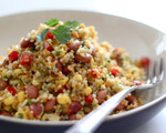 Mint, Bean and Couscous Salad