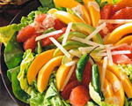 Mixed Fruit Salad with Spicy Dressing