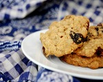 Molasses Raisin Drop Cookies