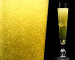 Money Green Champagne Cocktail