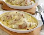Mozzarella Baked Chicken