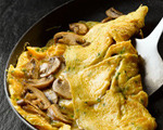 Mushroom and Cream Cheese Omelet