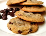 No Mess Chocolate Chip Cookies