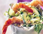 Noodle Salad with Shrimp