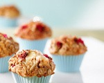Oat Cranberry Muffins