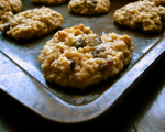 Oatmeal Raisin Applesauce Cookies