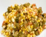 Low-Fat Okra Succotash