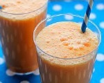 Pine-Orange Banana Juice Smoothie